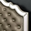 Thumbnail: Imprad Eliora Silver Glam Mirrored Bed Frame