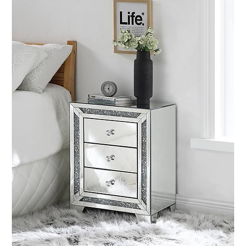 Glam All 97648 Mirrored Stand