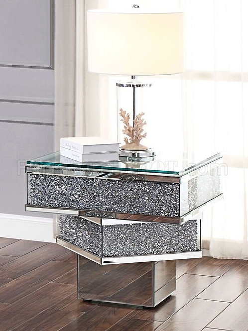 Noralie All 81467 Mirrored End Table