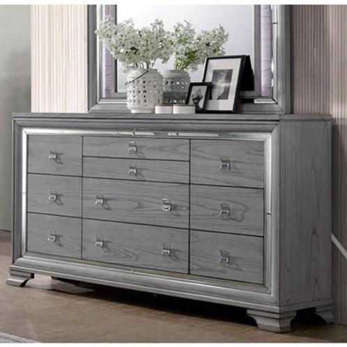 ALANIS Imprad LED Light Gray Dresser