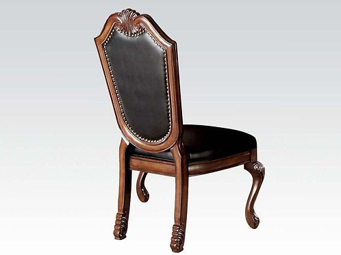 Chateau All Cherry Finish Side Chair PU