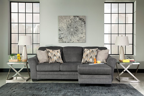 Braxlin Angel Charcoal Sofa Chaise