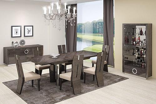 59 Geo Gray Dining Table