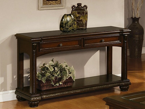 All Anondale Sofa Table Cherry