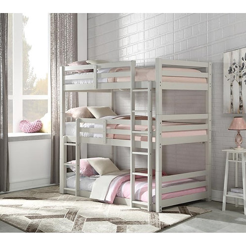 Ronie All Twin Triple Bunk Bed