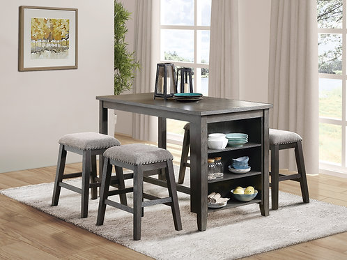 Timbre Henry Counter Height Table Gray