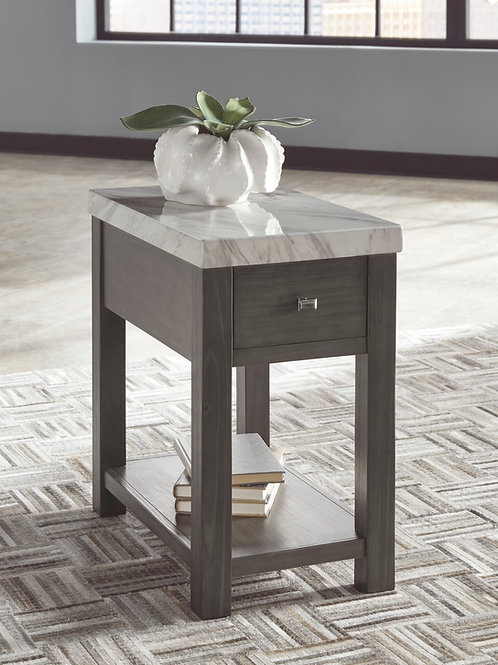 Vineburg Angel Chairside End Table