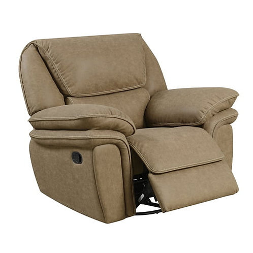 Emeral Allyn Light Brown Power Motion Chair w/USB Outlet