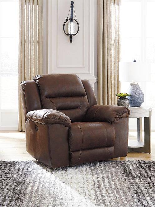 Angel Stoneland Chocolate Microfiber Reclining Power Chair
