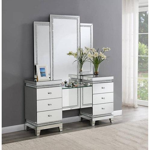 Cali Mirrored Glam Vanity