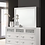 Thumbnail: Cali Barzini White Silver Dresser