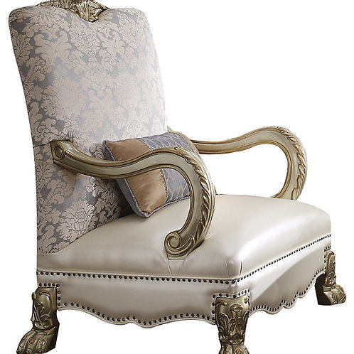 Dresden All Chair Pear & Gold Finish