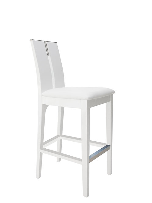 Avanti Shar White Gloss Barstool