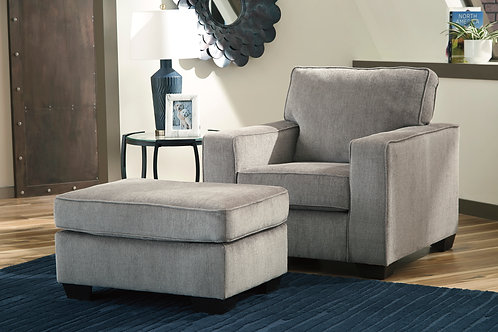 Redlands Angel Gray Contemporary Chair