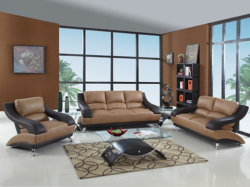 982 Geo Two-Tone Sofa