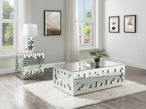 All Nysa 88045 Mirrored Glam Coffee Table