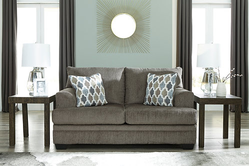Dorsten Angel Slate Contemporary Loveseat