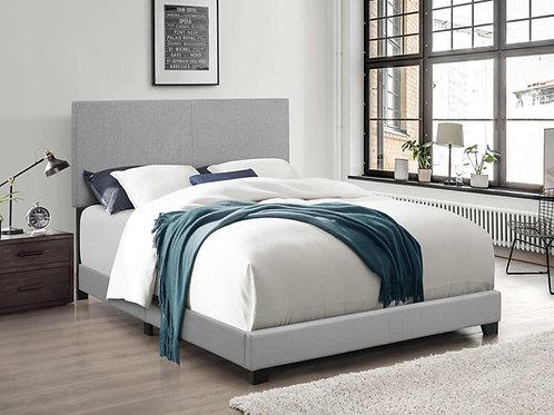 7553 Mg Linen  Light Gray Bed