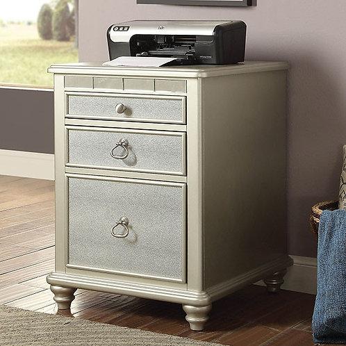 Anne Imprad Silver File Cabinet