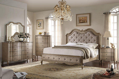 Chelmsford All Bed Beige Fabric & Antique Taupe