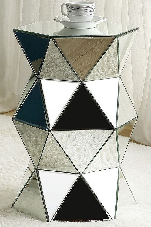 All Meria Pedestal, Mirrored - 97942