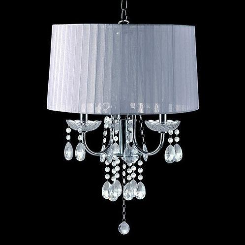 Jada Imprad White Metal Ceiling Lamp