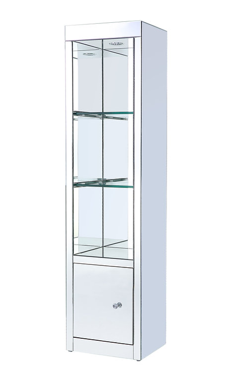 All Lotus Side Pier (Left) - 91837 - Glam - LED, Mirror, Glass - Mirrored