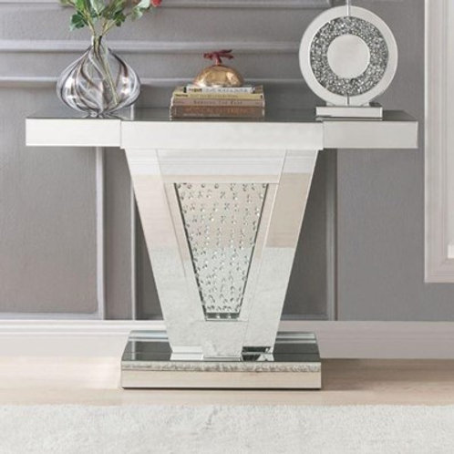 Glam All 90064 Mirrored Console Table