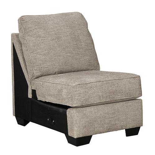 Bovarian Angel Armless Beige Chair