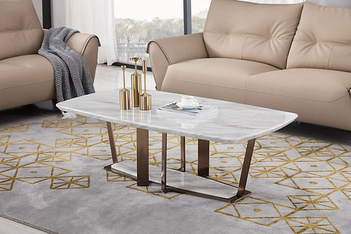 1712 AE Faux Marble Coffee Table