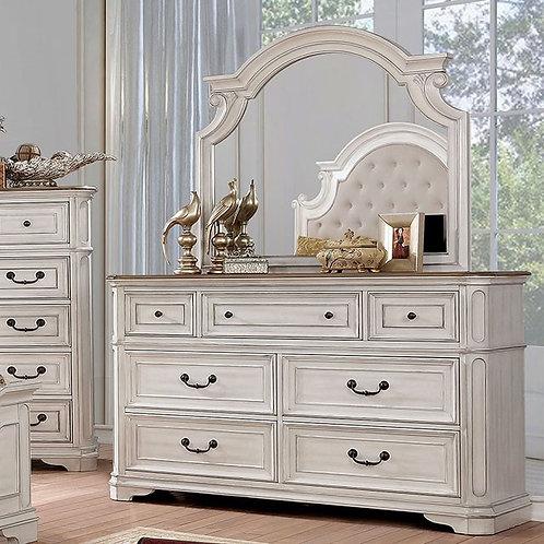 PEMBROKE Imprad Antique Whitewash Dresser