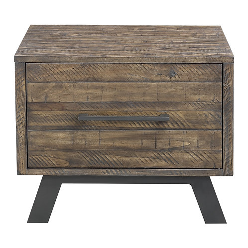 Cody Henry Rustic Pine Finish End Table