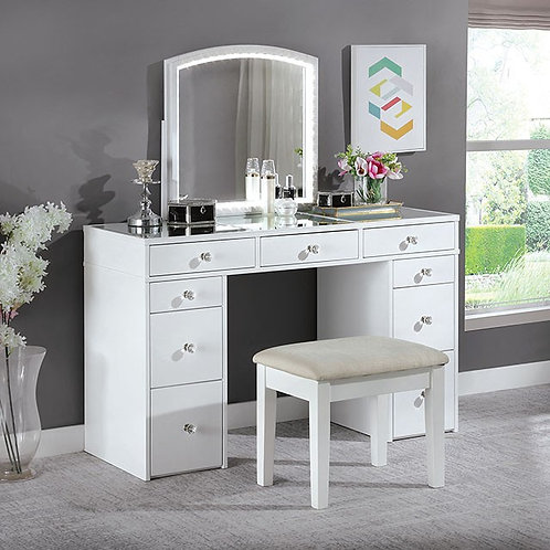 Louise Imprad White Vanity Set