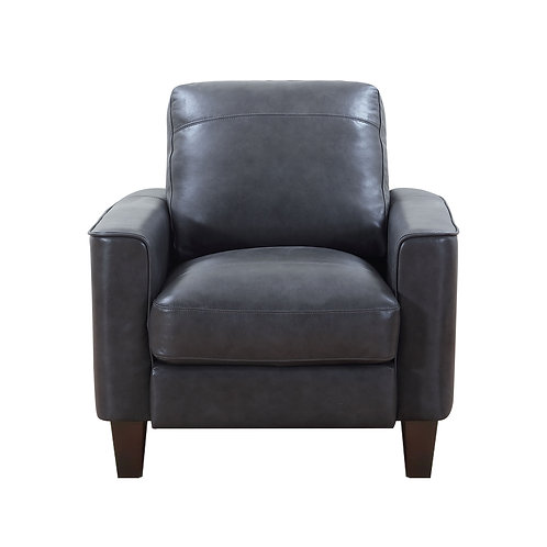 CHINO Italia - GREY Modern Genuine Leather Chair