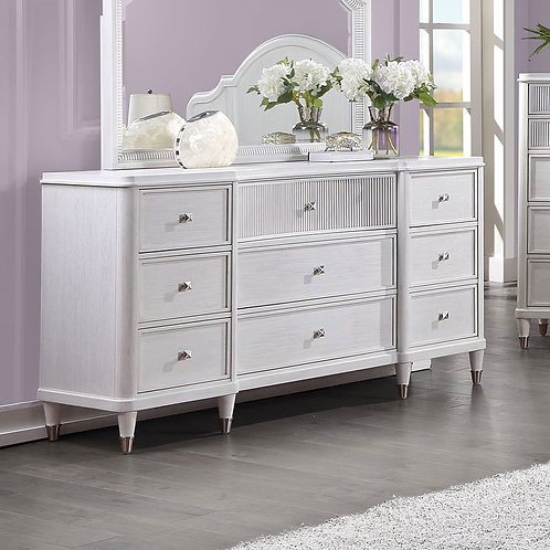 Celestia All Off White Dresser