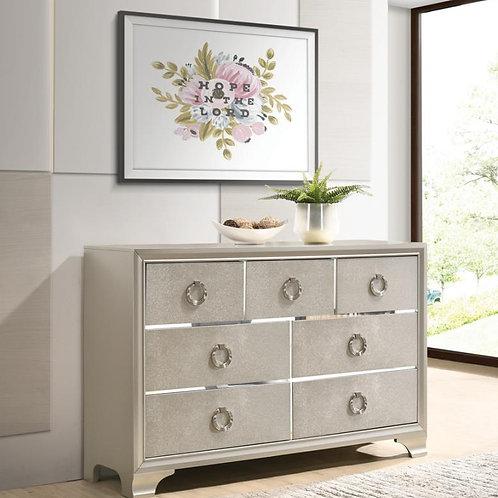 Cali Salford Glam Metallic Sterling Dresser
