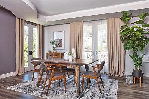 Ashton Cali Sheesham Grey Dining Table
