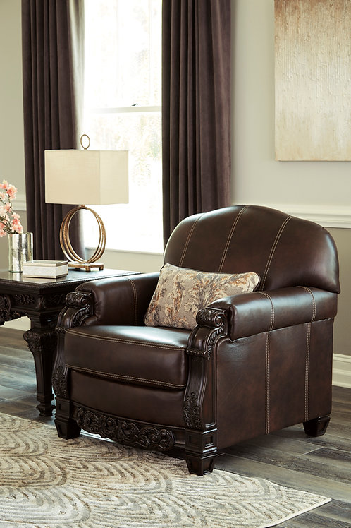 Angel Traditional Leather Chair