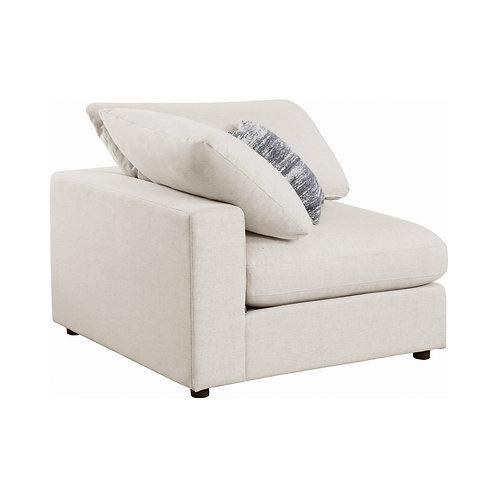 Serene Cali Upholstered Beige Corner