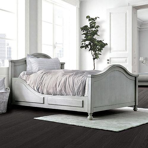 Lovis Imprad Antique White Bed