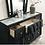 Thumbnail: CARISSA Imprad Transitional Black Velvet Dresser