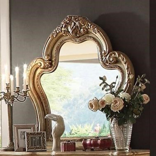 Dresden All Vintage Gold Finish Mirror