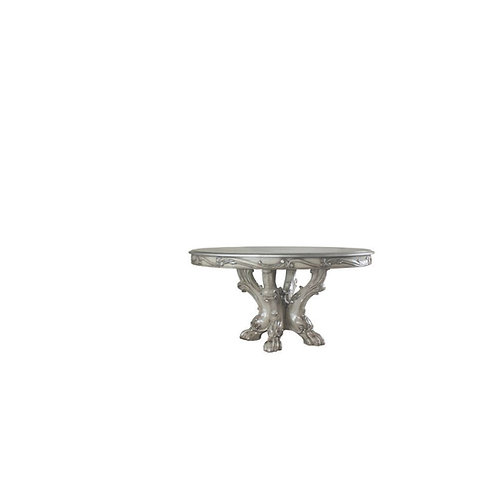 Dresden All Dining Table (Round) Vintage Bone White