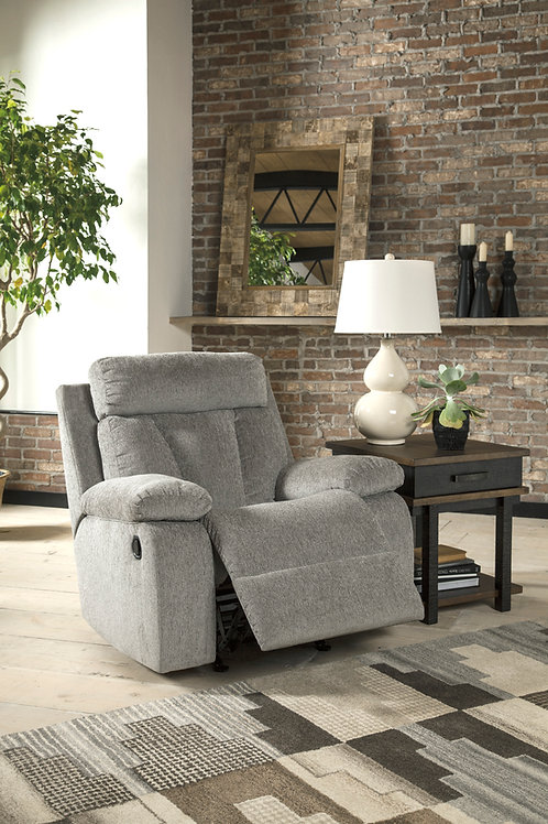 Mitchiner Angel Rocker Recliner Gray