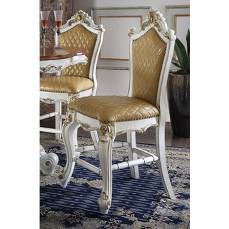 All Picardy Counter Height Chair Antique Pearl