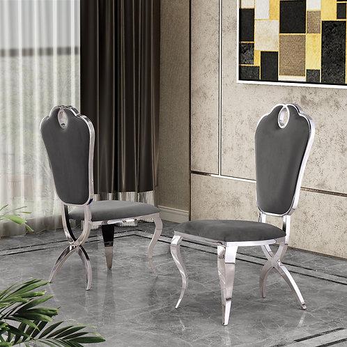 Best Q SC39 Velvet Gray Chair