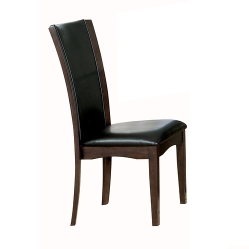 Daisy Henry Brown Vinyl Side Chair