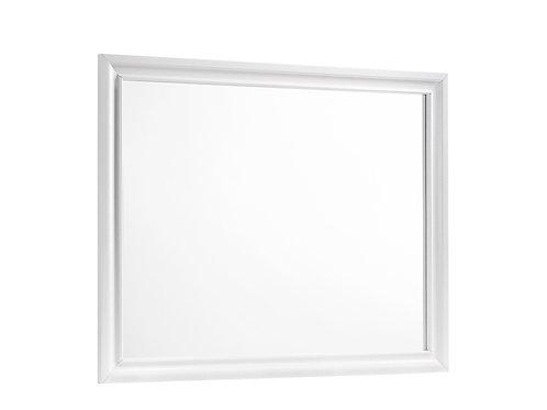 Barzini Cali Rectangle Dresser Mirror White