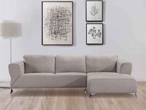 All Josiah Sectional Sofa Sand Fabric