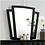 Thumbnail: CARISSA Imprad Transitional Black Velvet Mirror